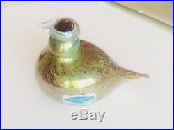 wärtsilä | Iittala Glass Bird