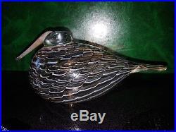 O. Toikka Glass Bird Eurasian Woodcock