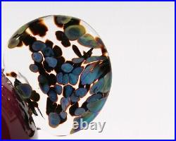 Oiva Toikka 1998 Iittala Finnish Glass Kukko Rooster Annual Bird