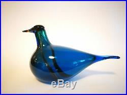 Oiva Toikka Anniversary Bird Juhlalintu Kaipola Glass Design Art Iittala Finland