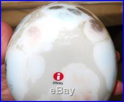 Oiva Toikka Annual Art Bird 2008 Cucunor Quail + Egg Number Iittala Finland