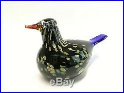 Oiva Toikka Annual Bird 2003 WILDWOOD CUCKOO Design Glass Birds Iittala Finland