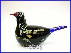 Oiva Toikka Annual Bird 2003 Wildwood Cuckoo Glass Design Iittala Finland