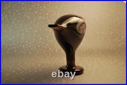 Oiva Toikka Annual Bird 2010 Rosebud Limited Edition Iittala Finland