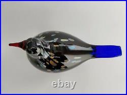 Oiva Toikka Annual Bird Wildwood Cuckoo 2003 Glass Design Iittala Finland