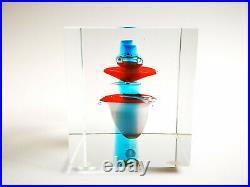 Oiva Toikka Annual Cube year 1997 Nuutajärvi Iittala Finland Art Glass Design