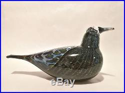 Oiva Toikka Annual bird Song Trush 1997 design glass Birds by Toikka Iittala