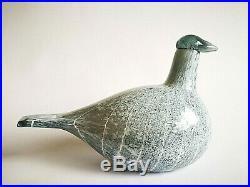 Oiva Toikka Arctic Baby Loon 2012 bird Iittala Finland Art Glass Design