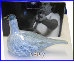 Oiva Toikka Arctic Baby Loon Limited Edition Art Bird 2012 Iittala Finland