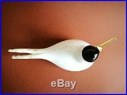Oiva Toikka Arctic Tern Annual Bird 2000 Design Glass Art Birds Iittala Finland