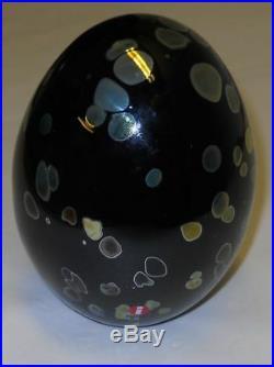 Oiva Toikka Art Annual Bird Egg 2003 Wildwood Cuckoo Iittala Finland Signed