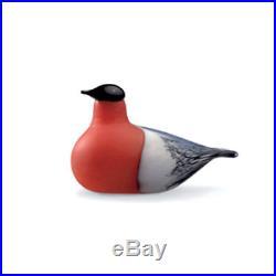 Oiva Toikka Art Bird Common Bullfinch Iittala Finland Design 1994
