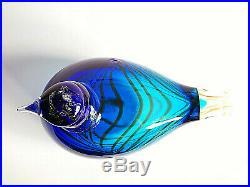 Oiva Toikka Art Glass Bird AALTO UNIVERSITY Design Iittala Finland