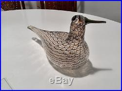 Oiva Toikka Art Glass Bird SPOV Iittala Nuutajärvi Finland
