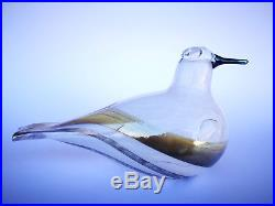 Oiva Toikka Art Glass Bird STELLERS EIDER Annual Iittala Nuutajärvi Finland