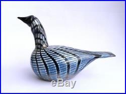 Oiva Toikka Art Glass Bird Small Loon Iittala Nuutajärvi Finland Design