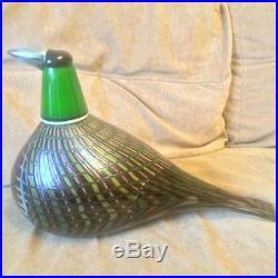 Oiva Toikka Big Bird Iittala Juhlafasaani Festive pheasant 2007 BLACK FRIDAY