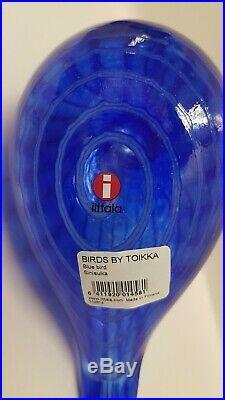 Oiva Toikka Bird Bluebird 1991-1997 Iittala Finland Nuutajärvi Arabia