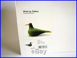 Oiva Toikka Bird Guillemot Glass Art Birds by Toikka Iittala Finland