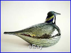 Oiva Toikka Bird Pilvikana Cloud Chicken Glass Design Art Iittala Finland