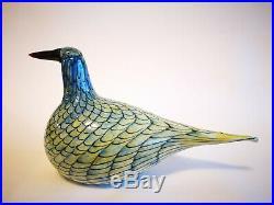 Oiva Toikka Bird Rusee Grebe Design Glass Birds Iittala Finland