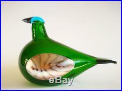 Oiva Toikka Bird The Bean Goose 2015 Design glass Birds by Toikka Iittala (BOX!)