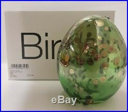 Oiva Toikka Bird's Egg 2012 Secretary SSKK Brand New Nuutajärvi Finland