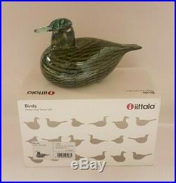 Oiva Toikka Birds Common Teal Feamele Tavitar 1999 Iittala Finland Arabia