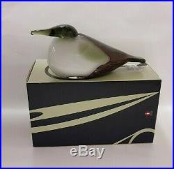 Oiva Toikka Birds Eider 1986-1994 Org Box Arabia Nuutajärvi Iittala Finland