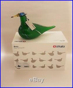 Oiva Toikka Birds Green Lapwing 2005-2008 Iittala Finland Arabia