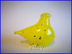 Oiva Toikka Crazy Days Bird Stockmann 2003 Art glass Birds by Toikka Iittala