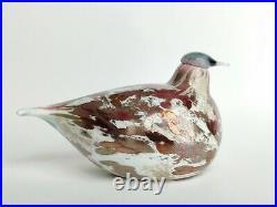 Oiva Toikka Cucunor Annual Bird 2008 Design Glass Art Iittala Finland