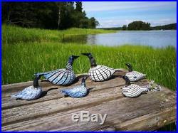 Oiva Toikka Design Art Glass Bird DIVER Iittala Nuutajärvi Finland! #2