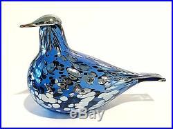 Oiva Toikka Finland 100 Dove Suomi Kyyhky Bird Design Glass Art Iittala (NEW)