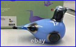 Oiva Toikka Glass Bird Figurine Sky Curlew Signed Oiva Toikka, Iittala Boxed