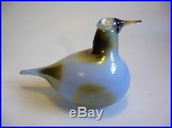 Oiva Toikka Iittala Finland Nuutajärvi Glass Bird Sky Curlew