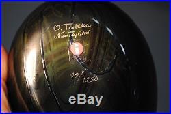 Oiva Toikka Iittala Large Art Glass Bird Limited Edition 79/1250