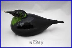 Oiva Toikka Iittala Large Art Glass Sea Bird Limited Edition 79/1250