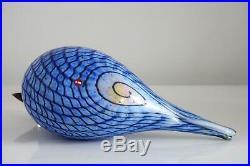 Oiva Toikka Littala / Nuutajarvi Rusee Grebe Kriiku Glass Bird 2008-2014