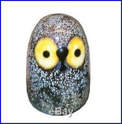 Oiva Toikka Little Barn Owl Cute Art Bird Finland Design Iittala