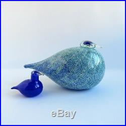 Oiva Toikka Masa Yards Special Bird Glass Signed Mint Nuutajarvi Iittala Finland