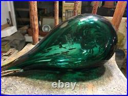 Oiva Toikka Nuutajarvi IIttala Finland Mid Century Spotted Glass Sea Duck Bird