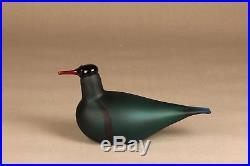Oiva Toikka Nuutajärvi iittala Green Lapwing bird matt rare