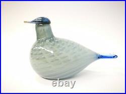 Oiva Toikka Pilvikki Special Bird for Vantaa City Glass Design Iittala Finland