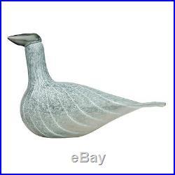 Oiva Toikka Special Art Bird Kid Baby Grebe Limited Edition Iittala Finland 2012