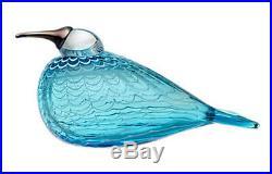 Oiva Toikka Special Art Bird Quendelon Turkuosi Only 300 Made Iittala Finland