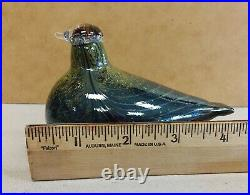 Oiva Toikka Special glass Bird Peeassa Northern Duck Pikkualli littala Finland