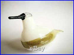 Oiva Toikka Stellers Eider Annual Bird 2006 Design Glass Art Iittala Finland