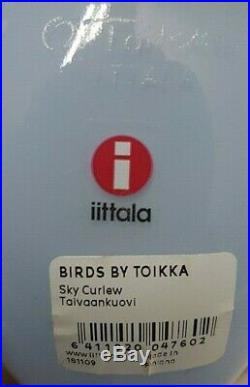 Oiva Toikka Taivaankuovi Sky Curlew Brand New Finland Iittala Arabia