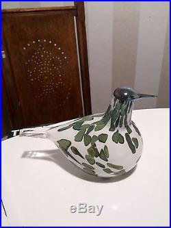 Oiva Toikka art glass bird HAVINA, SSKK 2014 Iittala Finland RARE! NEW IN BOX